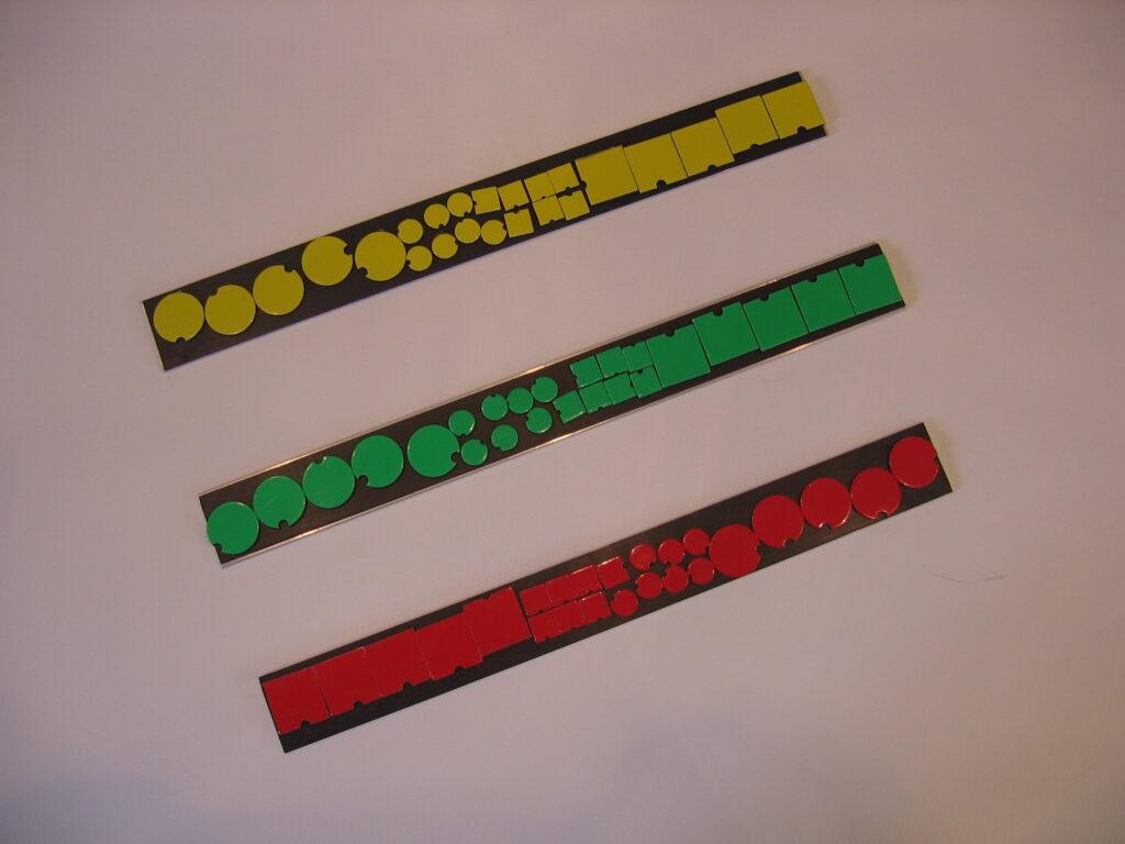 magnetische symbolen